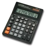 Калькулятор бухгалтерский Citizen SDC-444S черный 12-разрядный 2-е питание, MII, MU, A0234F, 00->0,SQRT аналог SDC-888T
