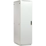 "Шкаф 19"" напольный 42U 600x600, дверь металл, серый (ЦМО ШТК-М-42.6.6-3ААА)"