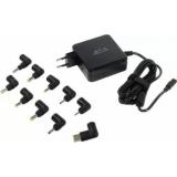 Блок питания для ноутбука Jet.A JA-PA14 18.5-20V/45W, 10 сменных штекеров, USB-порт, питание от сети
