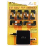 Блок питания для ноутбука Jet.A JA-PA16 18.5-20V/65W, 12 сменных штекеров, USB-порт, питание от сети