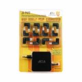 Блок питания для ноутбука Jet.A JA-PA19 18.5-20V/90W, 12 сменных штекеров, USB-порт, питание от сети