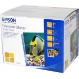 Бумага Epson 13x18 255г/м2 500л Premium Glossy Photo Paper S042199