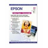 Бумага Epson A3+ 192г/м2 50л Archival Matter Paper S041340