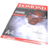 Бумага Lomond A4 140г/м2 10л термотрансфер для светлой ткани (0808411)