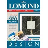 "Бумага Lomond A4 230г/м2 10л Дизайн Премиум крупная рельефная фактура ""БиоМакро"" односторонняя глянцевая (0936041)"