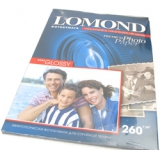 Бумага Lomond A4 260г/м2 20л полуглянцевая односторонняя премиум фото (1103301)