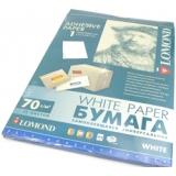 Бумага Lomond A4 70г/м2 50л самоклеящаяся неделенная матовая (2100005)