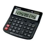 Калькулятор Canon WS-260 TC, 16 разр., настольный, налоги и валюта, горизонтальный дизайн, черный