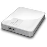 """Жесткий диск внешний 2.5"""" 1Tb WD (USB3.0) WDBDDE0010BWT-EEUE My Passport Ultra белый"""