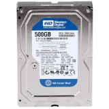 "Жесткий диск HDD 3.5"" SATA III 500Gb WD Blue 7200rpm 32Mb (WD5000AZLX)"
