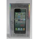 Чехол-бампер для Apple iPhone 5 FashionCase (жесткий пластик белый) (CH)