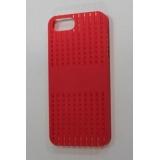 Чехол-бампер для Apple iPhone 5 FashionCase (жесткий пластик красный) (CH)
