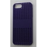 Чехол-бампер для Apple iPhone 5 FashionCase (жесткий пластик синий) (CH)