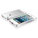 Чехол-бампер для Apple iPhone 5 SGP Neo Hybrid EX Snow (серебристый) + защитная пленка на экран (SGP09519)