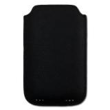 Чехол для Apple iPhone 4/4s Luxa2 PH5 (кожаный, черный) (LHA0016-B)