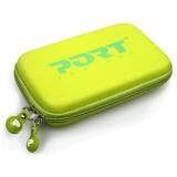 """Чехол для жестких дисков PORT Designs Colorado 2.5"""" светло-зеленый (материал: EVA, жесткий, внутр.карман, молния) (400136)"""