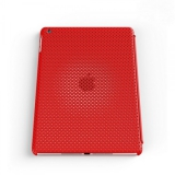 Чехол-крышка для Apple iPad Air IRUAL Mesh Shell (красный) (IRMSD500-MRD)