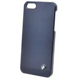 Чехол-крышка для Apple iPhone 5 BMW Signature Hard Shiny Blue (пластик, темно-синий) (BMHCP5SN)