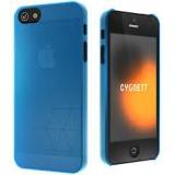Чехол-крышка для Apple iPhone 5 CYGNETT Polygon голубой пластик (CY0857CPPOL)