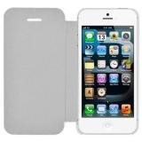 Чехол-крышка для Apple iPhone 5 (жесткий пластик, белый) (CH)
