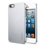 Чехол-крышка для Apple iPhone 5 SGP Ultra Thin Air Metal Series (поликарбонат, серебристый) (SGP09538)