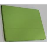 Чехол-подставка для Apple iPad 2/3/4 TabBook (кожзам зеленый) (CH)
