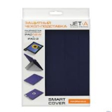 Чехол-подставка для Apple iPad 2/3 Jet.A IC10-29 (пластиковый чехол + обложка, синий)