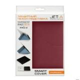 Чехол-подставка для Apple iPad 2/3 Jet.A IC10-30 (ан. Smart Cover, полиуретан, красный)