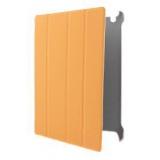 Чехол-подставка для Apple iPad 2/3 Jet.A IC10-30 (ан. Smart Cover, полиуретан, оранжевый)