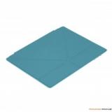 Чехол-подставка для Apple iPad 2/3 Jet.A IC10-30 (ан. Smart Cover, полиуретан, синий)