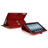 Чехол-подставка для Apple iPad Mini Luxa2 Butterfly (кожаный, красный) (LHA0088-C)