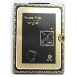 Чехол-подставка для Apple iPad Mini SmartZone (полиуретан черный глянец ромбы) (CH)