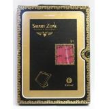 Чехол-подставка для Apple iPad Mini SmartZone (полиуретан под кожу малиновый) (черная упаковка) (CH)