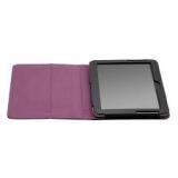 Чехол-подставка для Samsung Galaxy Tab 2 10.1 P5100/5110 Jet.A SC10-1 (кожаный, черный, фиолетовый интерьер)