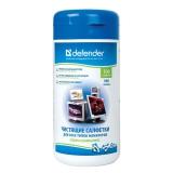 Чистящие салфетки Defender для экранов 100 шт в банке (30320)