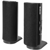 Колонки Defender SPK-210 (2.0) 2x2Вт, пластик, черные