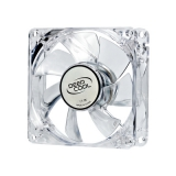 Вентилятор для корпуса 80x80x25 DEEPCOOL Xfan 80L Red Led RTL (XFAN80L/R)