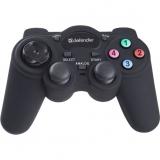 Джойстик-геймпад Defender Game Racer Turbo  RS3 USB-PS2/3 12 кнопок 2 стика (64251)