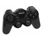 Джойстик-геймпад Defender Game Racer Wireless V2.0 (64262)