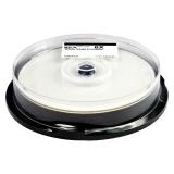 Диск Blu-Ray Mirex BD-R 25Gb 4x Printable Cake box 10шт