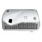 Проектор NEC U321H (U321HG+WM) DLP (1920x1080)Full HD, 3200 ANSI, 10000:1, VGA, HDMI (HDCP), USB(A)х1, RJ45, RS-232, настенный крепёж NP04WK, Ультракороткофокусный