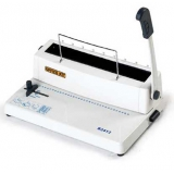Переплетчик Office Kit B3412 A4/перф.12л.сшив./макс.120л./метал.пруж. (5.5-14.3мм) шаг 3:1, 34 отверстия, 300мм
