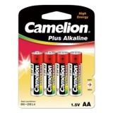 Элемент питания AA Camelion Plus Alkaline LR6/316 (уп4шт)