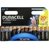 Элемент питания AA Duracell Turbo (уп12шт)