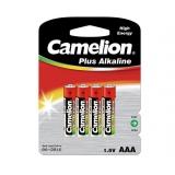 Элемент питания AAA Camelion Plus Alkaline LR03/286 (уп4шт)