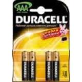 Элемент питания AAA Duracell Basic (уп4шт)