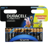 Элемент питания AAA Duracell Turbo (уп12шт)