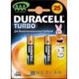 Элемент питания AAA Duracell Turbo (уп2шт)