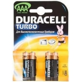Элемент питания AAA Duracell Turbo (уп4шт)