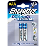 Элемент питания AAA Energizer Ultimate Litium (уп2шт)